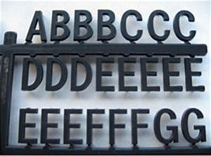 black directory letters 3 4 inch premium grade in With 3 inch plastic letters