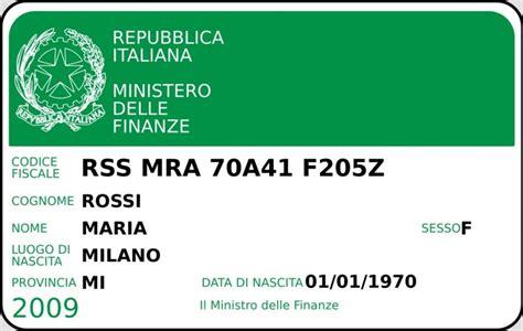 Ufficio Codice Fiscale by Come Fare Per Calcolare Il Codice Fiscale Di Una