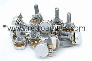 Marshall Valvestate 8080  8100 Replacement Pots Kit