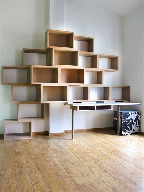 bureau biblioth ue int r bibliothèque bureau variation 17 design claude jouany