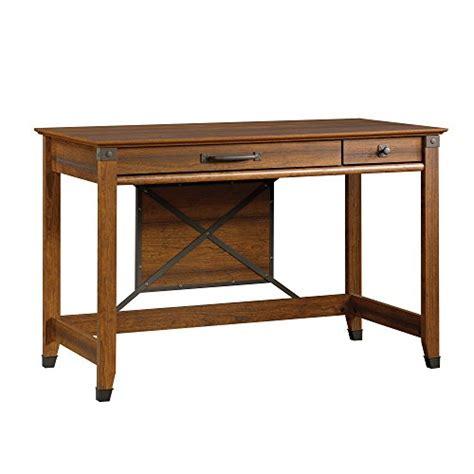 sauder carson forge desk sauder carson forge writing desk washington cherry finish