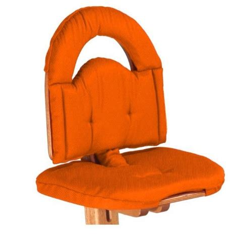 svan signet high chair uk svan signet chair cushion in orange new baby feeding high