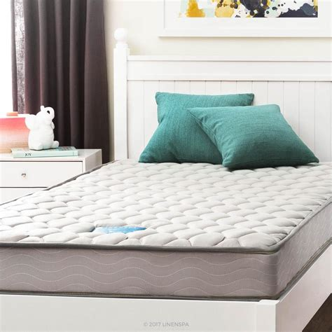 how is a xl mattress linenspa 6 in xl innerspring mattress ls06fxgrsp
