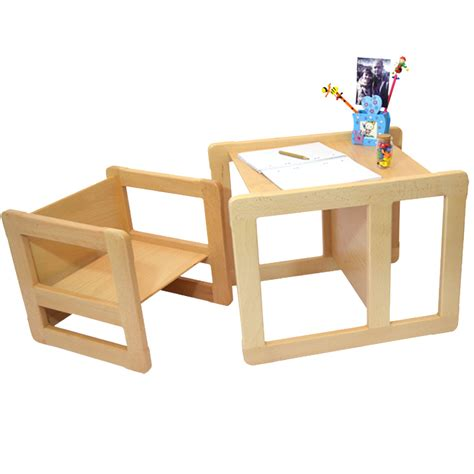 but table et chaise 3 in 1 childrens multifunctional furniture set of 2 one