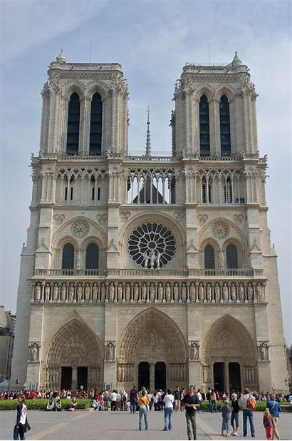Notre Dame Paris Cathedral Notredame 2007 Gothic