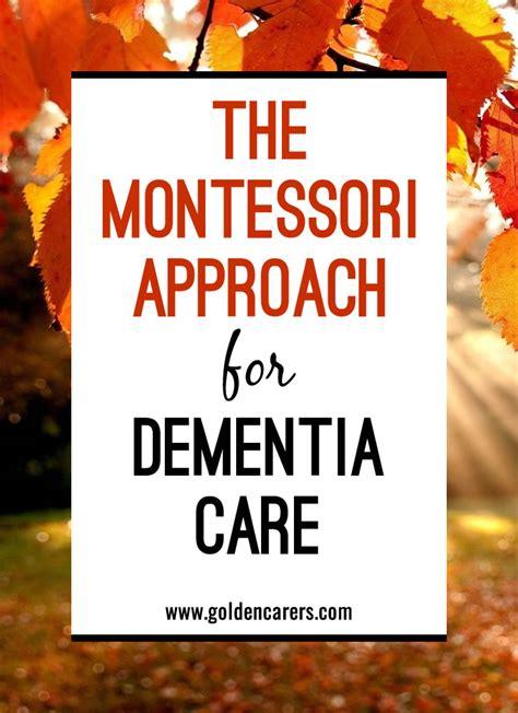 montessori based activities