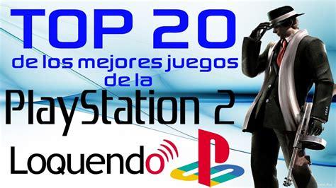 Muchas veces no contamos con el dinero suficiente para comprar una consola de juegos para ps3 o ps4 sin embargo gracias a esta plataforma pc podemos jugar la mayoría de los juegos, incluso si no lo están existen. Top 20 de los mejores juegos de la PS2 HD 2013 [LOQUENDO ...