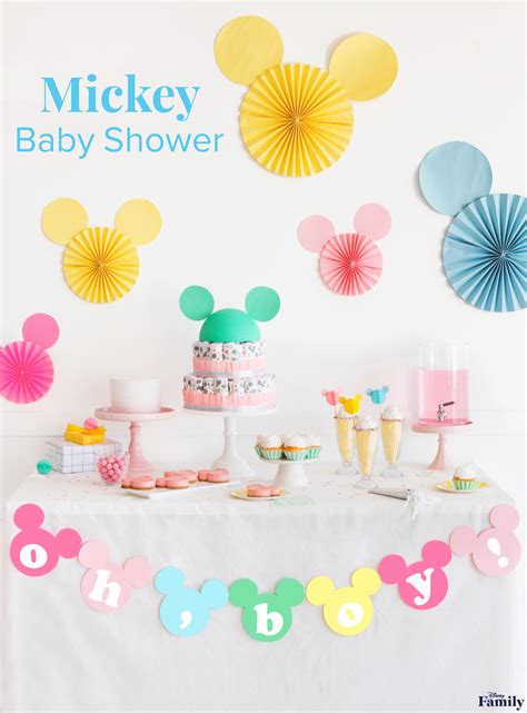 Baby Shower by Mickey Baby Shower Disney Family