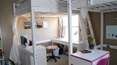 bunk beds rooms to go cecilia s loft bed room tour three peas youtube 18394 | maxresdefault