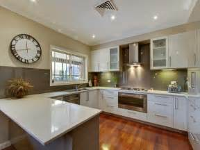 u shaped kitchen ideas modern u shaped kitchen design hardwood kitchen