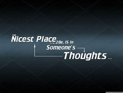 Thoughts Wallpapers Quote Quotes Desktop Background Backgrounds