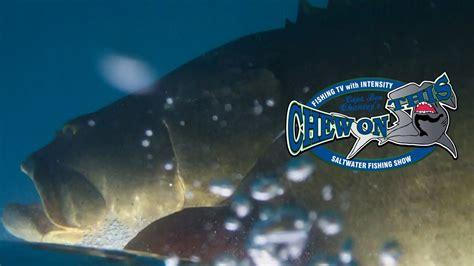blacktiph grouper fishing goliath chew tv rod