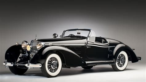 Roadster Mercedes Benz 540 K Spezial 4k Hd Desktop