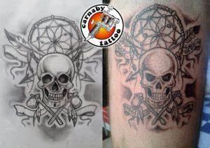 Tatouage Capteur De Rêve : galerie de tatouages de carnabytattoo custom tribal couleur ~ Melissatoandfro.com Idées de Décoration