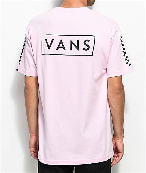 vans checkmate pink  shirt zumiez
