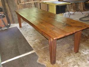 woodwork narrow farm table pdf plans With counter height harvest table