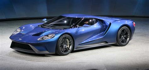 New 2016 Ford Gt Price And Planned Production Numbers