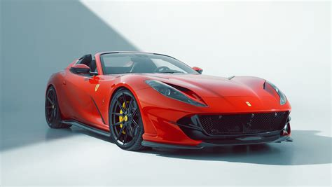 It is also based on extensive wind tunnel testing, which helped to optimize the handling. По третманот во Novitec, Ferrari 812 GTS развива 840 КС ...