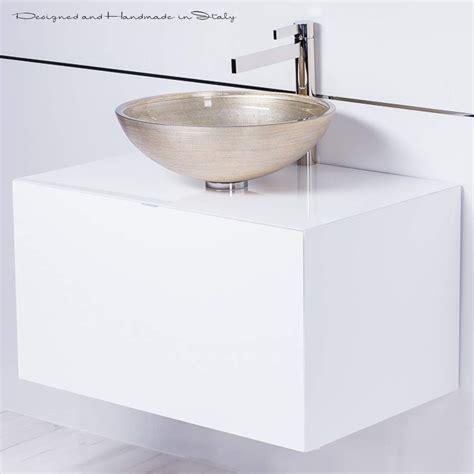 Floating Bathroom Sink by High End 30 Inch White Floating Bathroom Vanity And Vessel