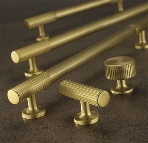 brass kitchen cabinet handles armac martin kitchen cabinet handles brass chrome