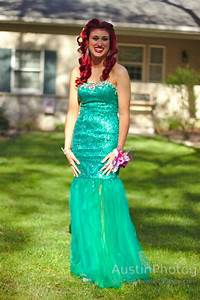 The Little Mermaid Ariel inspired prom | Ariel, The Little ...