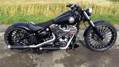Breakout Harley Davidson Fxsb Exhaust 114 Sound