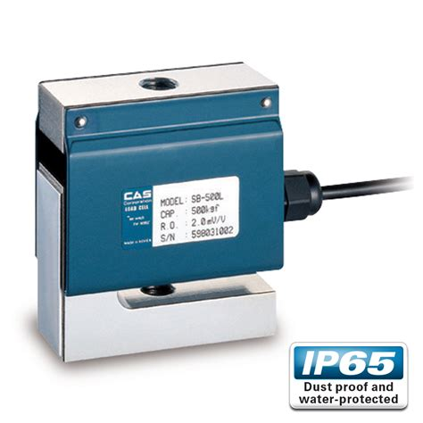 cas sb s type load cell cas load cells auckland nz
