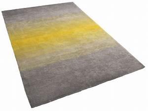 Teppich 140x200 Grau : teppich grau gelb shaggy vorlage vorleger hochflor ~ Whattoseeinmadrid.com Haus und Dekorationen