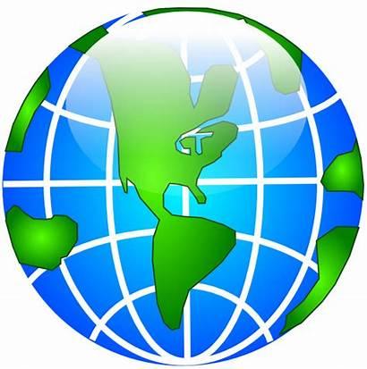 Globe Clipart Earth America Geography Clip Usa