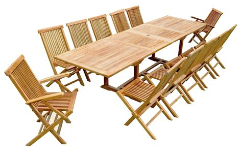 Table Jardin Teck by Salon De Jardin Teck Table Rallonge