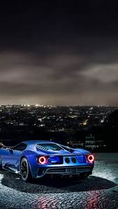 wallpaper, ford, gt, , supercar, , concept, , blue, , sports, car