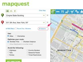 Get Driving Directions From MapQuest