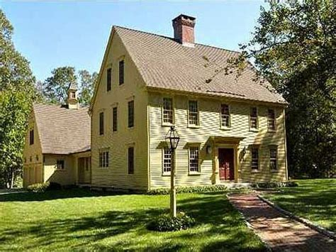 Classic Colonial Homes House Plans Old Colonial Homes