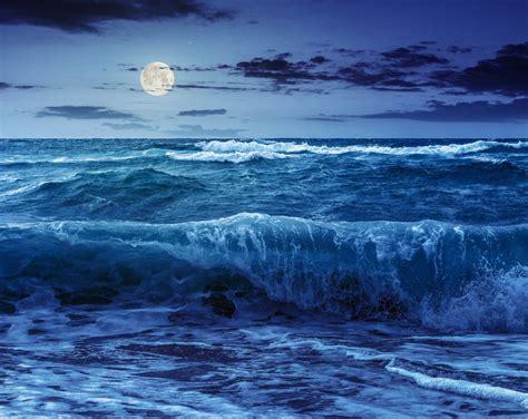 Cómo la luna afecta las mareas: La forma en que estas