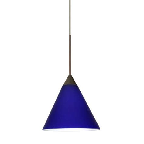 cobalt blue pendant light fixture bellacor