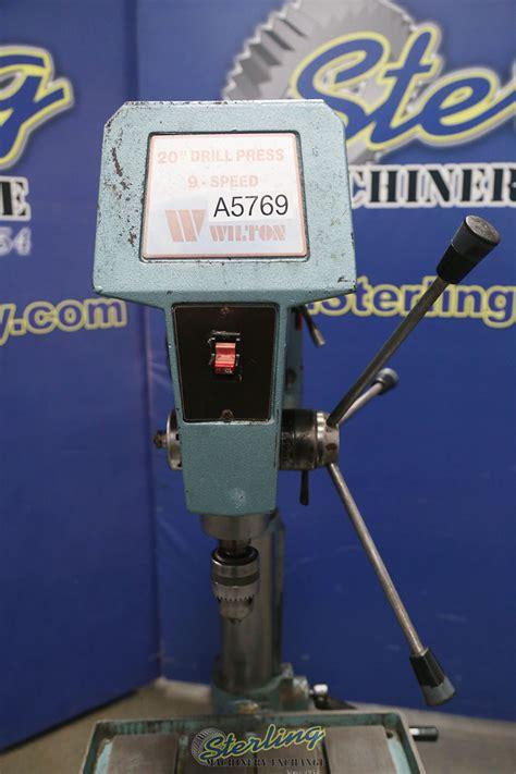 wilton variable speed floor drill press sterling