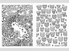 Posh Adult Coloring Book Japanese Designs for Fun