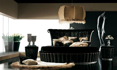 Red And Black Living Room Decorations by Luxurious Black Bedroom Design Stylehomes Net