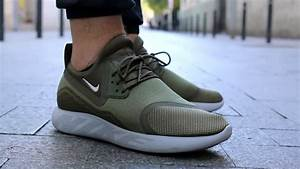 Unboxing: Nike Lunarcharge Essential Medium Olive - YouTube  Nike