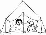 Tent Coloring Camping Pages Drawing Sketch Circus Draw Tents Sheets Getdrawings Printable Sketches Excellent Awesome Getcolorings Paintingvalley Davemelillo sketch template