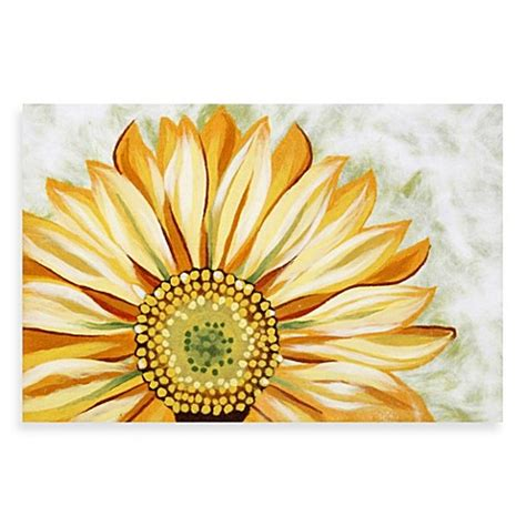Sunflower Doormat by Buy Liora Manne Sunflower Door Mat From Bed Bath Beyond