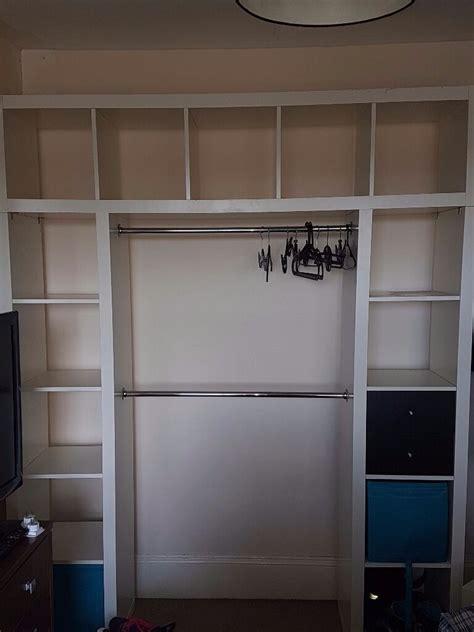Ankleidezimmer Ikea Kallax by 89 Ikea Kallax Closet Hack Our 100 Closet System