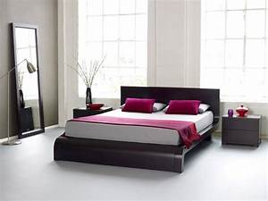 stunning chambre a coucher moderne images home ideas With chambre rouge et noir