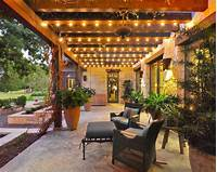 backyard lighting ideas Patio Lighting Ideas