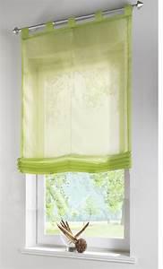 Günstige Raffrollos Mit Schlaufen : raffrollo transparent uni aus voile mit schlaufen 610070 ebay ~ Frokenaadalensverden.com Haus und Dekorationen
