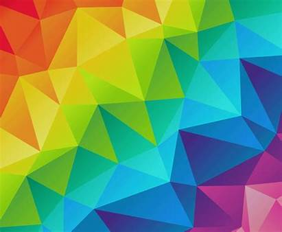 Colorful Vector Background Triangles Freevector