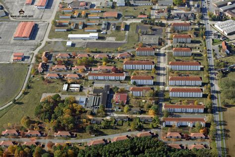 aerial images  army babenhausen kaserne