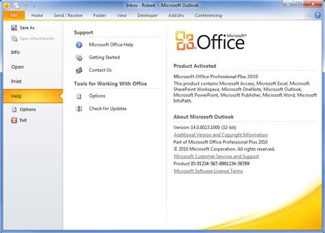 Ms Office Version by How To Check The Service Pack Level In Office 2010