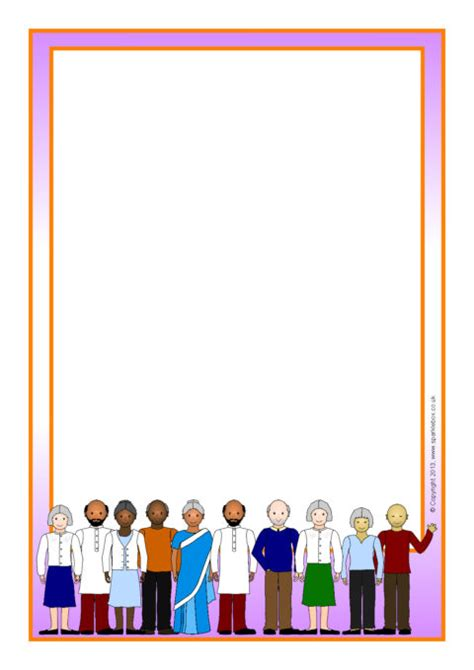 grandparents day  page borders
