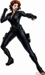 CHARACTER MODEL — Black Widow, Avengers Movie Version ...
